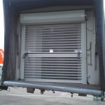Safety shutters for passenger boarding