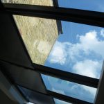 anti-glare roof blinds