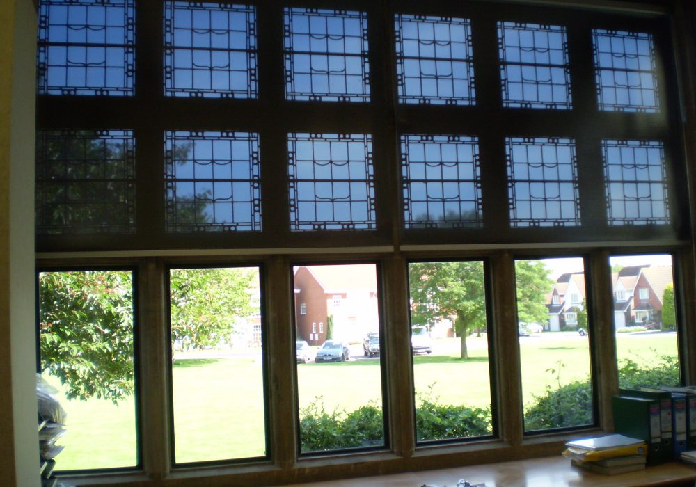 Even Stately homes benefit from Reflex-Rol heat and glare reductions